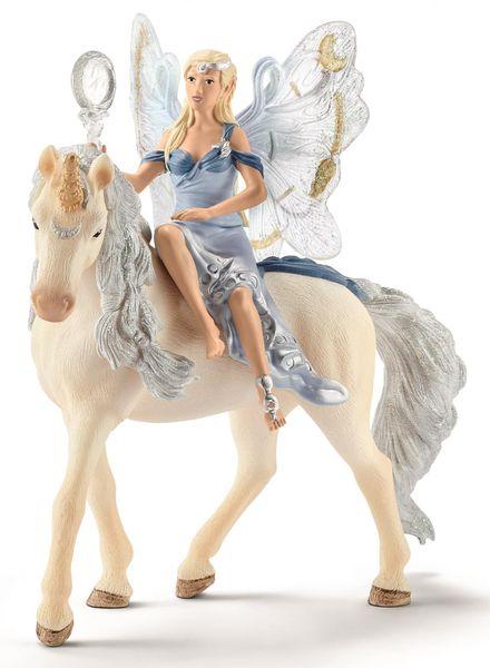 Schleich Elfí víla Lunaja na koni 70537