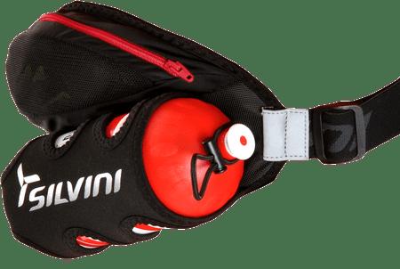 Silvini sportska torbica za struk ASO UA815, crno-crvena