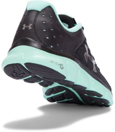0a13f56225aed Under Armour W Micro G Assert 6 Black Crystal Metallic Pewter 39 (8 ...