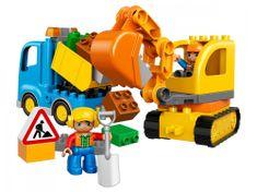 LEGO DUPLO® 10812 Pásový bagr a náklaďák