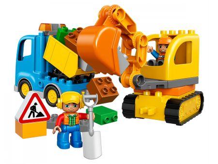 LEGO DUPLO 10812 Tovornjak in bager