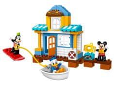 LEGO DUPLO 10827 Miki in prijatelji s hišo na plaži