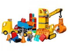 LEGO DUPLO 10813 Veliko gradbišče