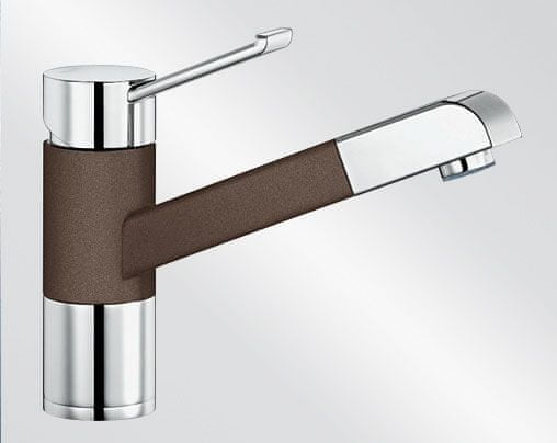 Blanco Zenos S - káva/chrom