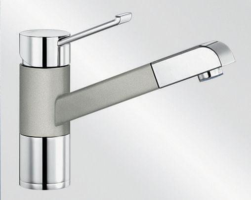 Blanco Zenos S - perlově šedá/chrom