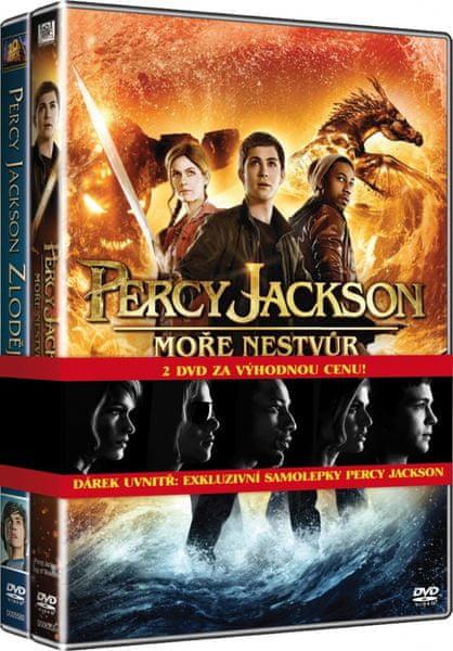 Percy Jackson 1+2: kolekce (2DVD) - DVD