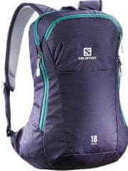 Salomon nahrbtnik Origins 18 Night Grey/Teal Blue F
