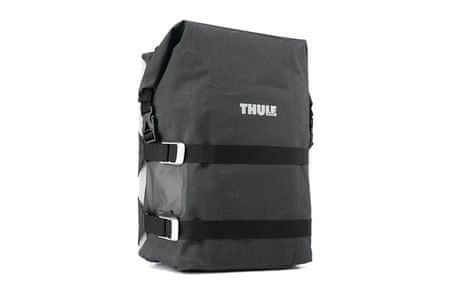 Thule Pack'n Pedal Large Adventure touring pannier, black