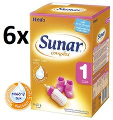 Sunar Complex 1 - 6 x 600g