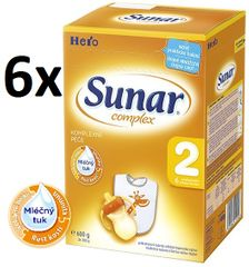 Sunar Complex 2 - 6 x 600g