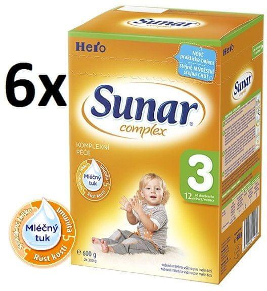 Sunar Complex 3 - 6 x 600g