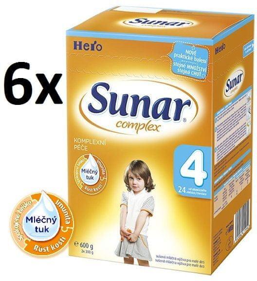 Sunar Complex 4 - 6 x 600g