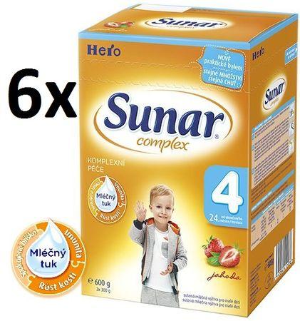 Sunar Complex 4 jahoda - 6 x 600g