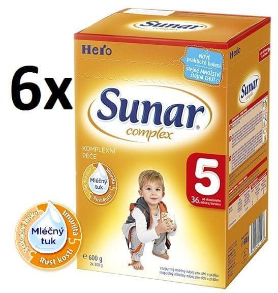 Sunar Complex 5 - 6x600g