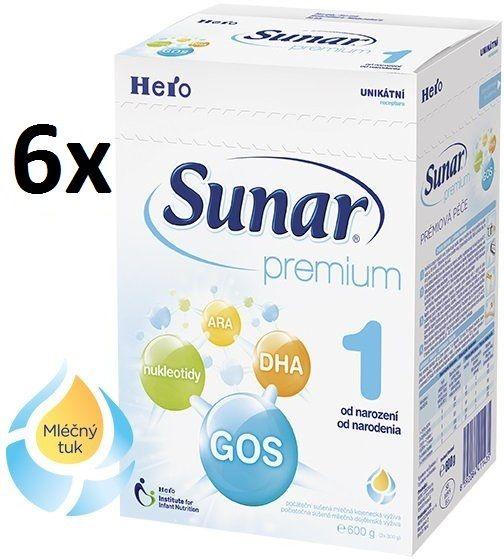 Sunar Premium 1 - 6 x 600g