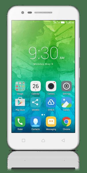 Lenovo C2, Dual SIM, white