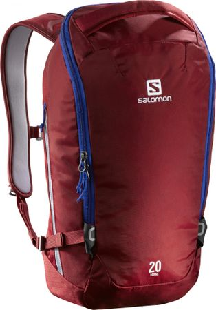 Salomon plecak Quest Verse 20 Brique-X/Blue Yonder