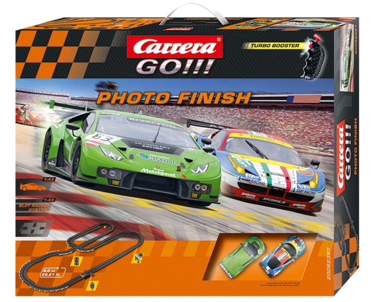 Carrera GO Autodráha Photo Finish