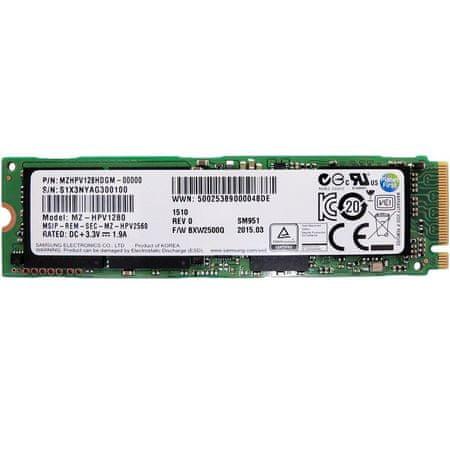 Samsung SSD trdi disk SM951 128GB M.2 PCIe (MZHPV128HDGM-0000)