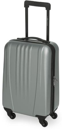 Leonardo kabinski kovček Trolley 18 ABS, siv