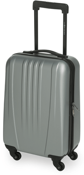 Leonardo Palubní zavazadlo Trolley 18 ABS šedá