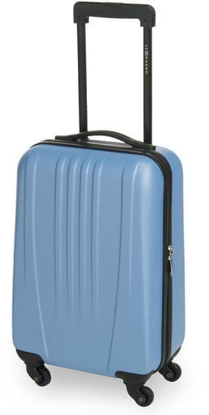 Leonardo Palubní zavazadlo Trolley 18 ABS modrá