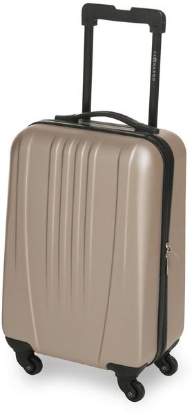 Leonardo Palubní zavazadlo Trolley 18 ABS hnědá