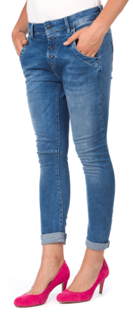 Pepe Jeans ženske kavbojke Hopsy 26 modra