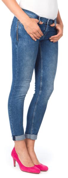 Pepe Jeans dámské jeansy Skippy 31/30 modrá