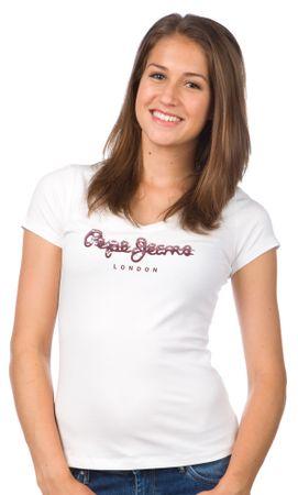 Pepe Jeans ženska majica Miranda XS bela