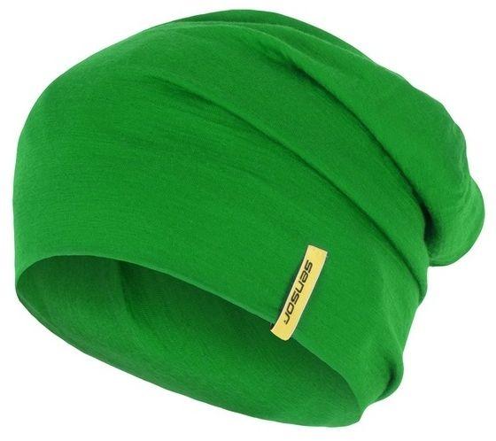 Sensor Čepice Merino Wool Zelená M