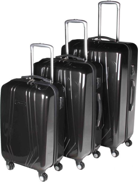Leonardo Sada kufrů Trolley černá