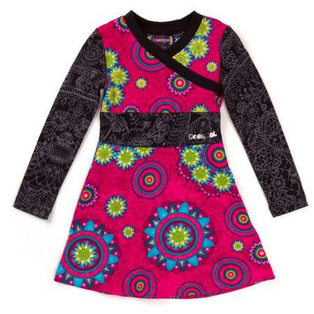 6ce3d87dbf01 Desigual dívčí šaty 140 vícebarevná - Diskuze