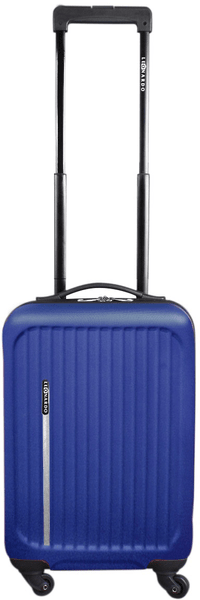 Leonardo Palubní kufr Trolley Premium modrá