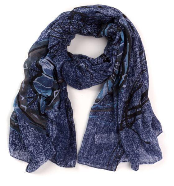 Desigual dámský šátek uni modrá