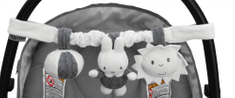Tiamo Řetěz na autosedačku Miffy Grey
