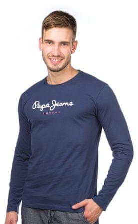 Pepe Jeans pánské tričko Eggo Long M modrá - Parametre  ceca110c53