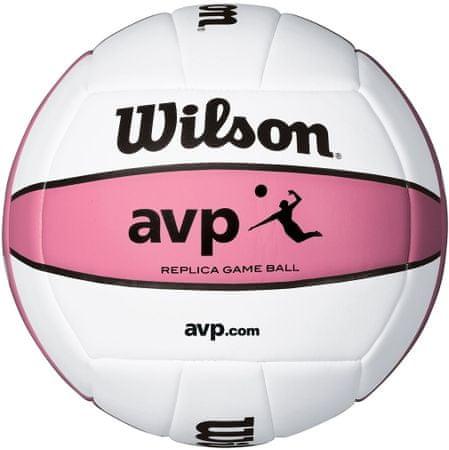 Wilson žoga za odbojko AVP Replica, roza
