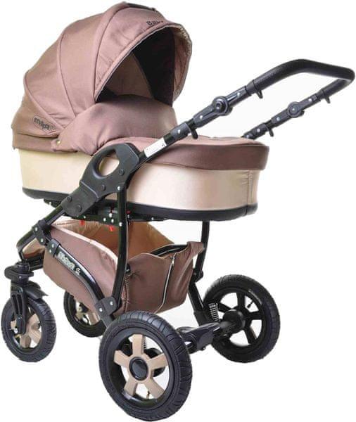 Sun Baby Kombinovaný kočárek 2v1 Ibiza, béžový