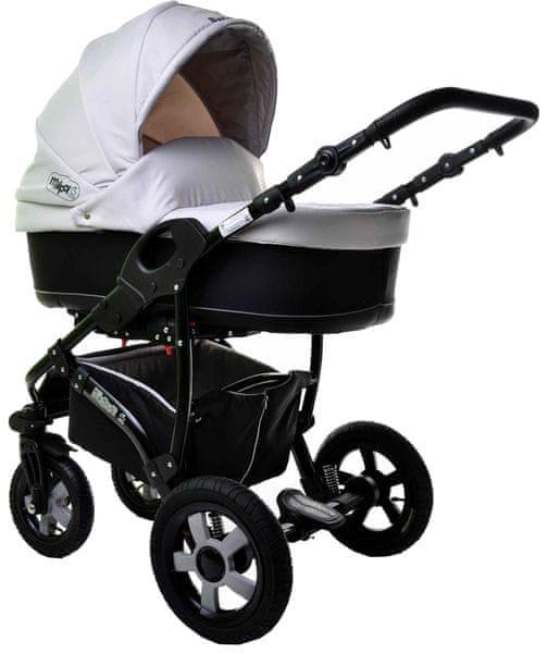 Sun Baby Kombinovaný kočárek 2v1 Ibiza, šedý