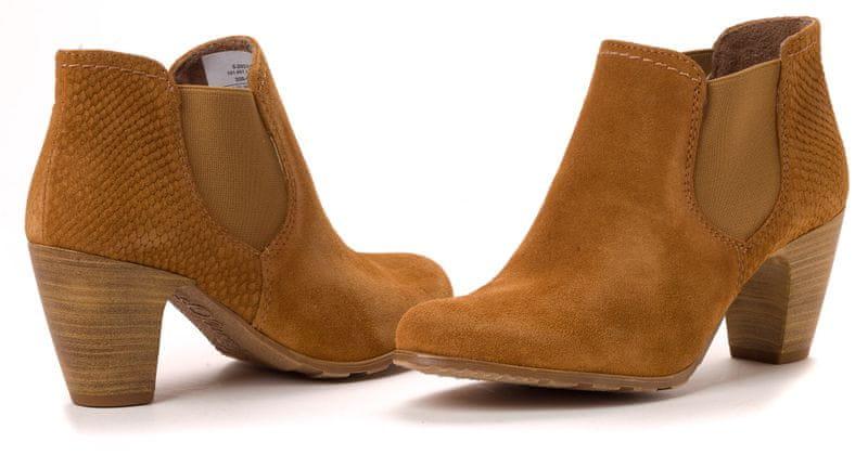 s.Oliver dámská kotníčková obuv 37 hnědá