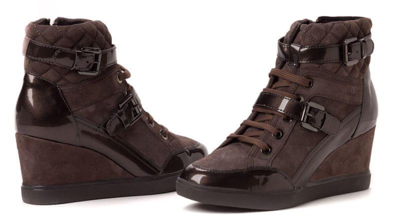 Geox dámská kotníčková obuv 41 hnědá