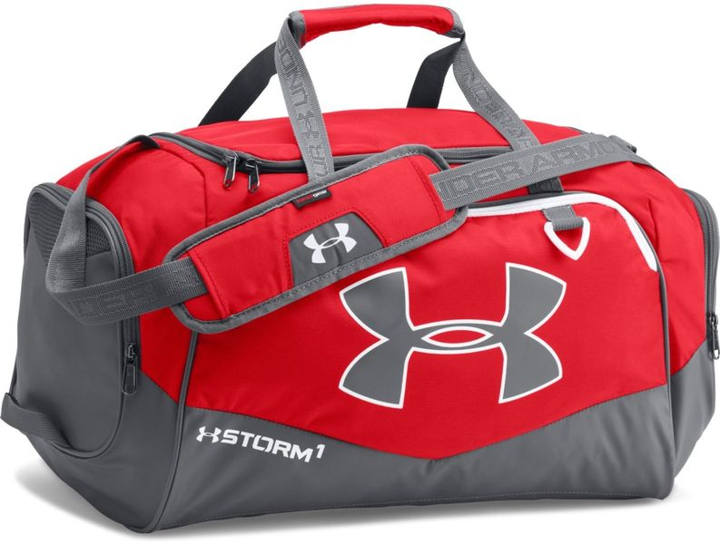 Under Armour Undeniable SM Duffel II Red Graphite White
