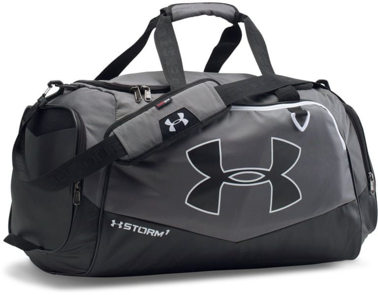 Under Armour Undeniable LG Duffel II Graphite Black White