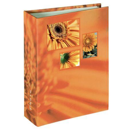 Hama foto album Singo, 13x16,5 cm, 100 strani, oranžen