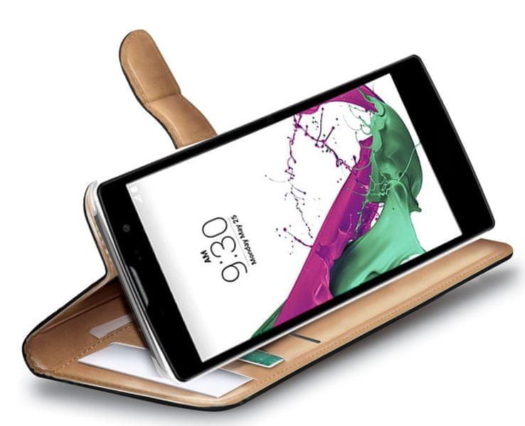 Celly Pouzdro Wally, LG G4C, černá