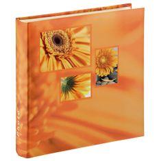Hama foto album Singo, 30x30 cm, 100 strani, oranžen