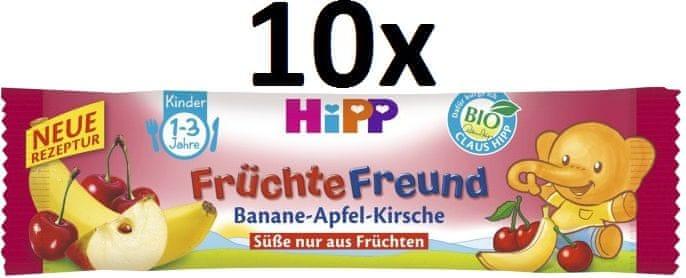 HiPP BIO Oplatka Banán-Jablko-Višeň 10x25g