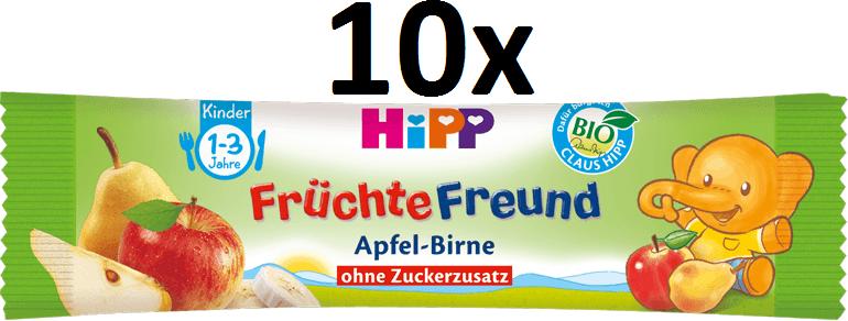 HiPP BIO Oplatky Jablko-Hruška-Banán 10x25g
