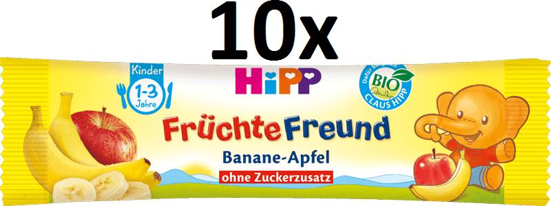 HiPP BIO Oplatky Banán-Jablko 10x25g